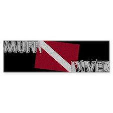 Muff Diver Bumper Bumper Sticker