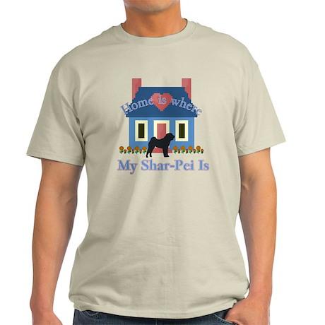 Shar Pei Home Is Light T-Shirt
