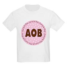 Polka Dot Bride's Aunt T-Shirt