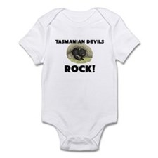 Tasmanian Devils Rock! Infant Bodysuit