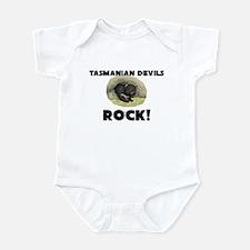 Tasmanian Devils Rock! Infant Bodysuit