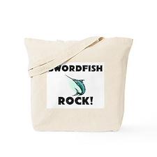 Swordfish Rock! Tote Bag