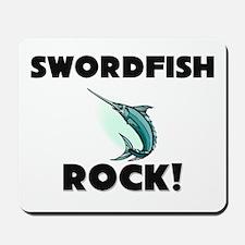 Swordfish Rock! Mousepad