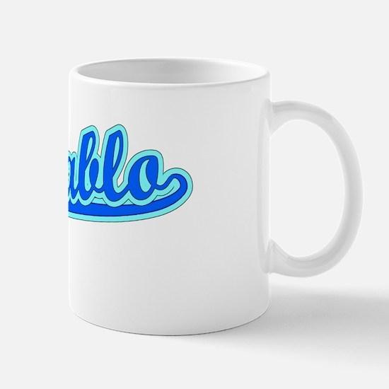 Retro San Pablo (Blue) Mug