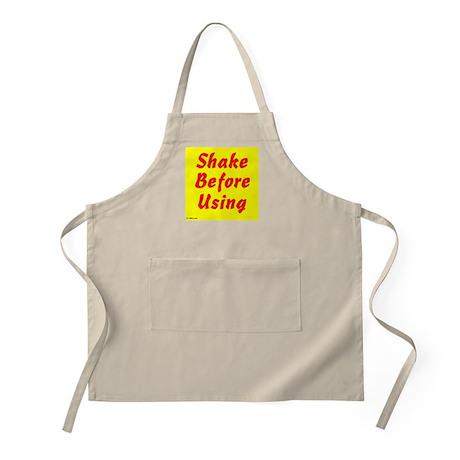 Shake Before Using BBQ Apron