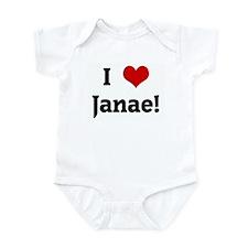 I Love Janae! Onesie