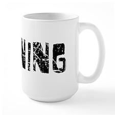 Banning Faded (Black) Mug