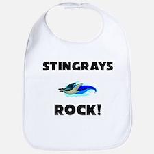 Stingrays Rock! Bib