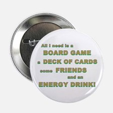 """Energy Drink3 Gamer 2.25"""" Button"""