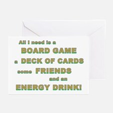 Energy Drink3 Gamer Greeting Cards (Pk of 10)
