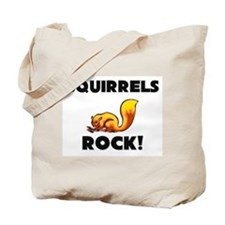 Squirrels Rock! Tote Bag