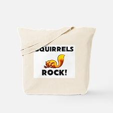 Squirrels Rock! Tote Bag