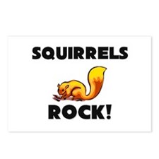 Squirrels Rock! Postcards (Package of 8)