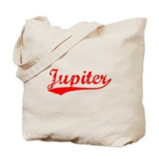 Vintage Jupiter (Red) Tote Bag