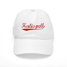 Vintage Kalispell (Red) Baseball Cap