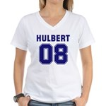 Hulbert 08 Women's V-Neck T-Shirt