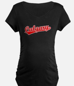 Retro Calgary (Red) T-Shirt