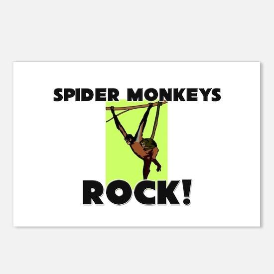 Spider Monkeys Rock! Postcards (Package of 8)