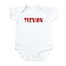 Trevion Faded (Red) Infant Bodysuit