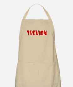 Trevion Faded (Red) BBQ Apron