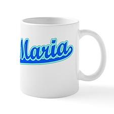 Retro Santa Maria (Blue) Mug