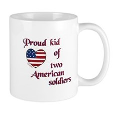 Proud Kid/American Soldier Mug