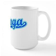 Retro Saratoga (Blue) Mug