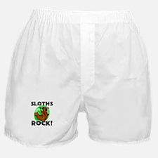 Sloths Rock! Boxer Shorts