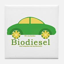Biodiesel Car Tile Coaster