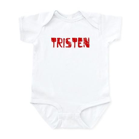 Tristen Faded (Red) Infant Bodysuit