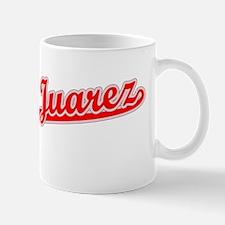 Retro Ciudad Juarez (Red) Mug