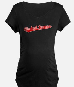 Retro Ciudad Juarez (Red) T-Shirt