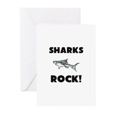 Sharks Rock! Greeting Cards (Pk of 10)