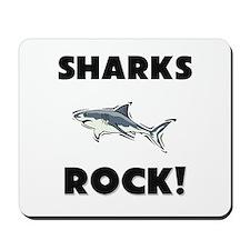 Sharks Rock! Mousepad