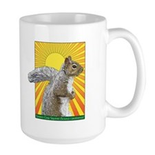 Pop Art Squirrel Mug