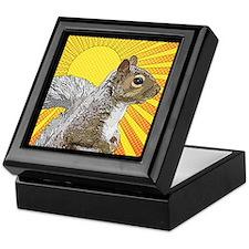 Pop Art Squirrel Keepsake Box