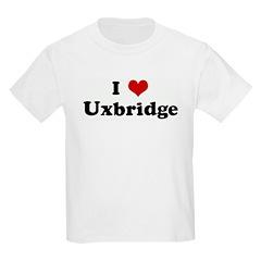 I Love Uxbridge Kids Light T-Shirt
