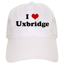 I Love Uxbridge Baseball Cap