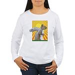 Pop Art Squirrel Women's Long Sleeve T-Shirt