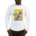 Pop Art Squirrel Long Sleeve T-Shirt