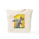 Pop Art Squirrel Tote Bag