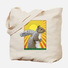 Pop Art Squirrel Tote Bag