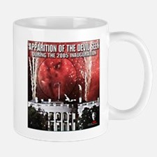 Bush and the Devil Mug