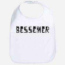 Bessemer Faded (Black) Bib