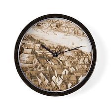 The Globe Theatre Wall Clock