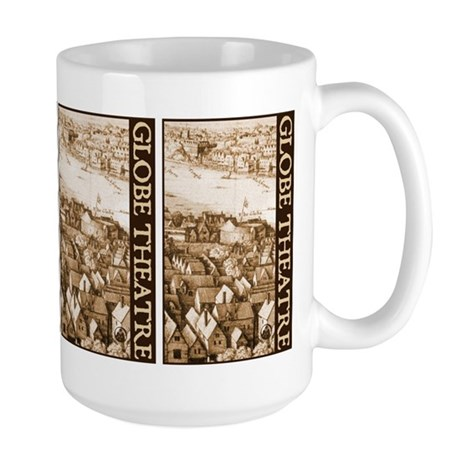 The Globe Theatre Large Mug