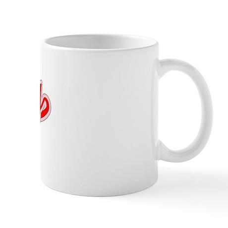 Retro Derby (Red) Mug