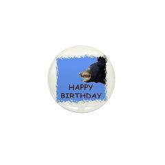 HAPPY BIRTHDAY BEAR Mini Button (10 pack)