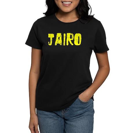 Jairo Faded (Gold) Women's Dark T-Shirt