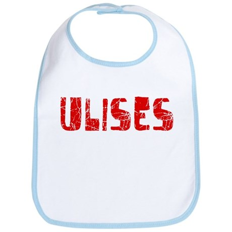 Ulises Faded (Red) Bib